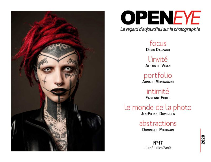 OPENEYE N°17 - Photo de couverture : Alexis de Vigan