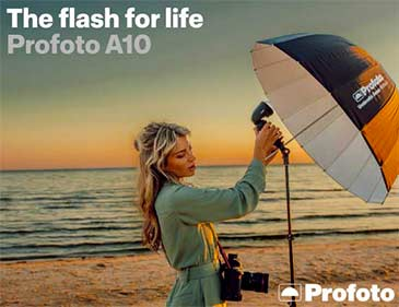 Profoto A10 - Un flash à vie